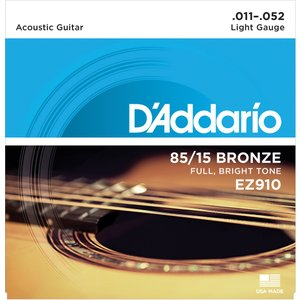 D'addario 85/15BRONZE EZ910 Light|repairgarage