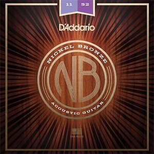 D'Addario NB1152 Nickel Bronze Wound Custom Light Gauge|repairgarage