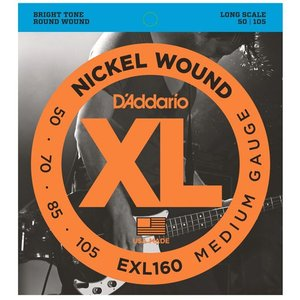 D'Addario XL EXL160 NICKEL WOUND|repairgarage