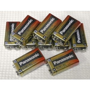 PANASONIC 6LR61-9V 006P アルカリ電池 10個パック|repairgarage