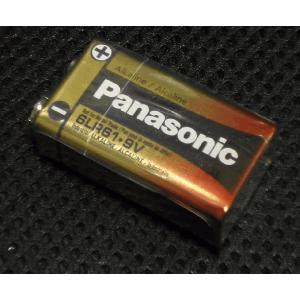 PANASONIC 6LR61-9V 006P アルカリ電池|repairgarage