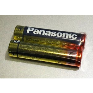 PANASONIC 単4アルカリ電池 1.5V LR03-AAA 2個セット|repairgarage
