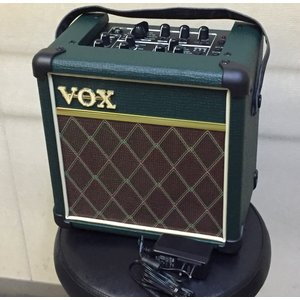 VOX MINI5 British Racing Green なんと PANASONIC 単3アルカリ電池 12本 つき!|repairgarage