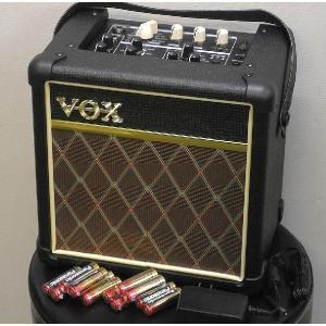 VOX MINI5 Rhythm CLASSIC なんと PANASONIC 単3アルカリ電池 12本 つき!|repairgarage