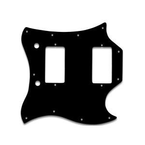 WD MUSIC ピックガード Gibson SG  STANDARD (FULL FACE) 用  BLACK WHITE BLACK|repairgarage