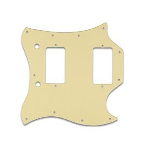 WD MUSIC ピックガード Gibson SG  STANDARD (FULL FACE) 用  CREAM BLACK CREAM|repairgarage