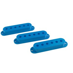 WD MUSIC STRAT  PICKUP COVERS BLUE (SET OF 3) ストラト...