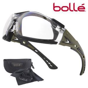 Bolle セーフティグラス Rush Plus クリアレンズ ガスケット付 メンズ アイウェア 保護眼鏡 保護メガネ 曇り止め ボレー|repmartjp