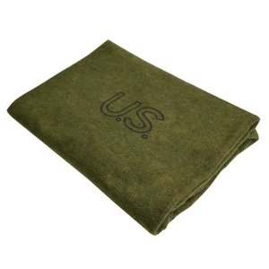 Rothco ブランケット US ウール素材 米国製 約160×200cm 9084 ロスコ U.S.Wool Blanket 毛布 タオルケット|repmartjp