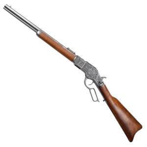 DENIX M73カービン 彫刻 ウィンチェスター 装飾銃 モデルガン 1253 G デニックス M1873 Mod.73 carb 古式銃|repmartjp