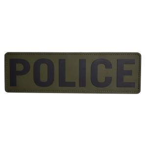 ミルスペックモンキー パッチ POLICE ベルクロ付き PVC製 [ ODグリーン ] MIL-SPEC MONKEY MSM TACTICAL|repmartjp