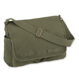 Rothco メッセンジャーバッグ HW クラシック [ オリーブドラブ ] ショルダーバッグ かばん カジュアルバッグ カバン 鞄 ミリタリー|repmartjp