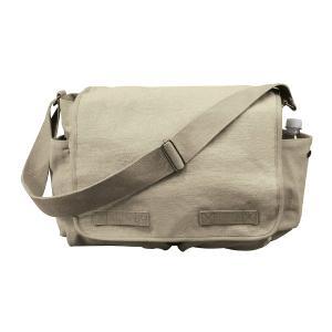 Rothco メッセンジャーバッグ HW クラシック [ カーキ ] ショルダーバッグ かばん カジュアルバッグ カバン 鞄 ミリタリー 帆布|repmartjp