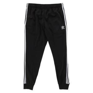アディダス トラックパンツ ジャージ 黒 ブラック adidas CUFFED TRACK PANTS AJ6960 ジョガーパンツ|republic