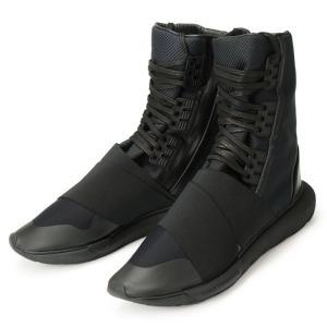 アディダス ワイスリー カーサ ブーツ 黒 ブラック BB4802 adidas Y-3 QASA BOOT YOHJI YAMAMOTO CBLACK/CBLACK/CBLACK メンズ ヨウジヤマモト コラボ|republic