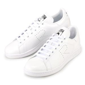 アディダス スタンスミス スニーカー 白 ホワイト adidas × RAF SIMONS STAN SMITH S81167 メンズ レディース ラフシモンズ コラボ|republic