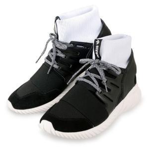 "new style cef98 6f641 アディダス チューブラー ドゥーム スニーカー 黒 白 BA7555 adidas TUBULAR DOOM ""BLACK/BLK/WHITE""  メンズ(adi0486)"