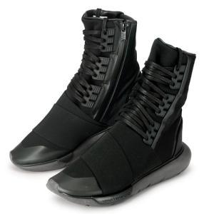 アディダス ワイスリー カーサ ブーツ adidas Y-3 QASA BOOT BY2629 メンズ コラボ 黒 ブラック|republic