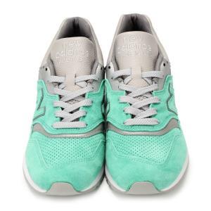 メンズ New Balance x CONCEPTS M997NSY ニューバランス コンセプツ コラボ スニーカー ターコイズ グリーン 靴 Made in USA 997|republic|04