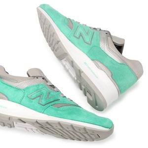 メンズ New Balance x CONCEPTS M997NSY ニューバランス コンセプツ コラボ スニーカー ターコイズ グリーン 靴 Made in USA 997|republic|05
