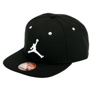 男女兼用  ナイキ ジョーダン ジャンプマン ブラック キャップ スナップバックキャップ ブラック 帽子   NIKE JORDAN JUMPMAN SNAPBACK CAP 619360 017