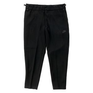 メンズ ナイキ テック フリース スウェット パンツ 黒 832120 010 Nike Sportswear Slim Fit Tech Fleece Pant Crop Length スポーツウェア スリム フィット ブ|republic