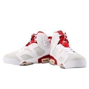 ナイキ エア ジョーダン 6 レトロ メンズ ホワイト レッド 靴 スニーカー NIKE AIR JORDAN 6 RETRO ALTERNATE 384664 113(nike0722) republic 03