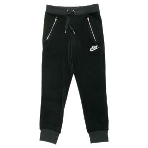 ナイキ スポーツウェア ウィメンズ ベロア パンツ レディース 黒 ジャージ ブラック Nike Nsw Velour Pant 921151 010|republic