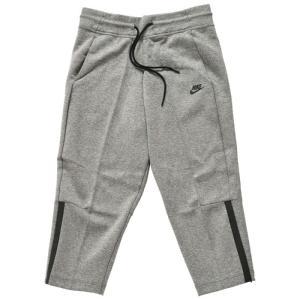 ナイキ スポーツウェア ウィメンズ テック フリース スウェット パンツ レディース グレー Nike Nsw Tech Fleece Pant Carbon Heather 908824 091 七分丈|republic