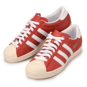 【アウトレット】【箱無し】【送料無料】アディダス スーパースター ビンテージ メンズ スニーカー 赤 adidas SUPER STAR VINTAGE G13250 レッド 靴|republic