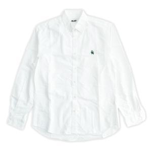 メンズPALACE SKATEBOARDS Textured Boojie Shirt パレススケートボード ボタンダウンシャツ ホワイト republic
