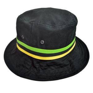 男女兼用 PALACE SKATEBOARDS Bucket Hat パレス スケートボード バケット ハット ライン ストライプ ブラック 黒 帽子 republic