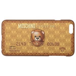 MOSCHINO iPhone 6 Plus Case モスキーノ アイフォン6 プラス アイフォンケース カバー ジャケット テディベア 熊 キャラクター republic