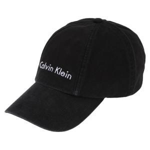 メンズ / レディース カルバンクライン ベースボール ロゴ キャップ 黒  男女兼用 Calvin Klein MESSENGER BASEBALL 41AH911010 republic
