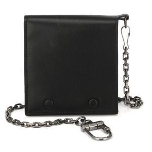 メゾン マルジェラ メンズ 財布 二つ折り チェーン付き ウォレット レザー 黒 Maison Margiela Portafoglio S55UI0108 republic