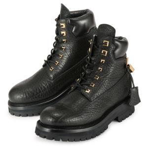ブシェミ サイト ブーツ ブラック 黒 BUSCEMI Site Boot 1002F16-BLK メンズ レザー 靴|republic