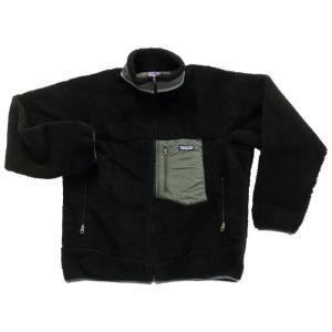 ◎祝!優勝セール◎25日まで送料無料さらに10%OFF! メンズ パタゴニア クラッシック レトロ - X フリース ジャケット ブラック Patagonia Classic Retro-X JKT|republic