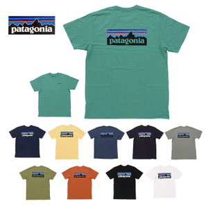 【8色】Patagonia パタゴニア Tシャツ 半袖 メンズ ロゴ プリント 39174 M's P-6 Logo Responsibili-Tee