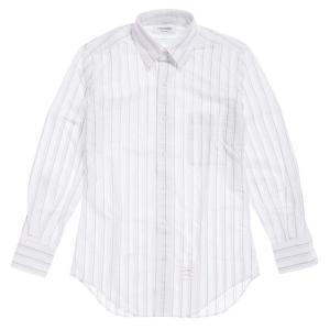 メンズトムブラウン オックスフォードストライプシャツ / THOM BROWNE CLASSIC LS BD BC SHIRT republic