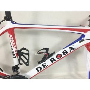 【中古】 De Rosa デ ローサ R838 フルカーボンロード シマノ DURA-ACE 11速 ロードバイク 中古 訳アリ  F4515529|rere-store