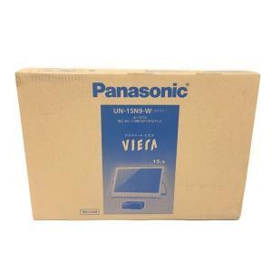 未使用 【中古】 Panasonic パナソニック プライベート・ビエラ UN-15N9-W 15V型 ポータブル 液晶 テレビ 未使用  F4631451|rere-store