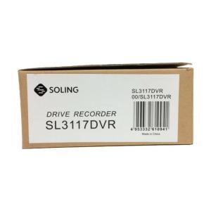 未使用 【中古】 SOLING ドライブレコーダー SL3117DVR ソーリン ドラレコ 未使用 F4643546|rere-store