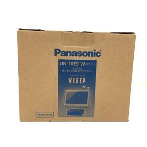 未使用 【中古】 Panasonic パナソニック UN-10E9 ライベートビエラ 液晶テレビ ポータブルテレビ 未使用  F4667350|rere-store