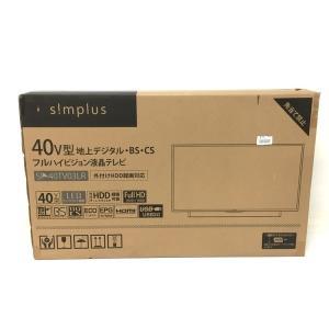 未使用 【中古】 Simplus SP-40TV03LR 液晶テレビ 40型 家電 未使用  F4687251|rere-store