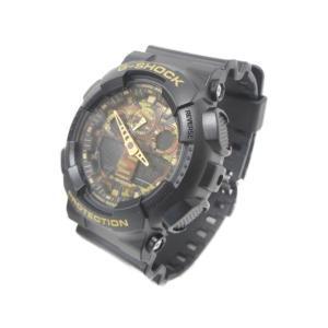 【中古】  中古 CASIO カシオ G-SHOCK GA-100CF-1A9JF 腕時計 メンズ クオーツ H3594093|rere-store