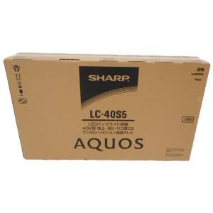 未使用 【中古】 未使用【中古】SHARP シャープ AQUOS アクオス LC-40S5 40型 液晶テレビ 40インチ 家電  H3606601|rere-store