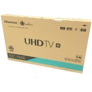 未使用 【中古】 未使用 未開封 ハイセンス 55F60E 4K LED 液晶TV 55型 家電  H4503574|rere-store