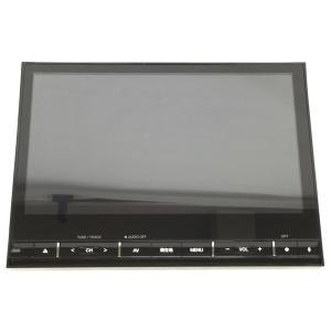 【中古】 clarion 新型 デリカ D5 専用 クラリオン 10.1インチ ナビ MZ609715 QY-9000M-B  S4421929|rere-store