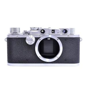 【中古】 超希少 LEICA IIIa 型 Canada Limited Midland ontario 72 (18x24) 35万番台 安大略 稀有 350000系列 生産小批量量 ボディ カメラ T2319994