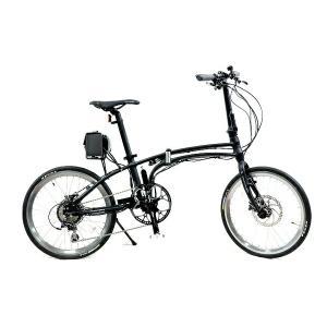 美品 【中古】 Daytona Pottering Bike デイトナ ポタリング バイク DE-01X 折りたたみ 電動 自転車 アシスト  T4639162|rere-store